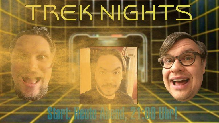 Ankündigung zur Aufnahme von Trek Nights Folge 2